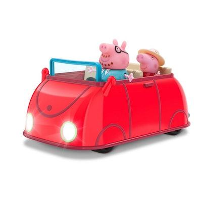 Peppa Pig Lights & Sounds Family Car