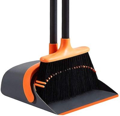 SANGFOR Dust Pan & Broom Set