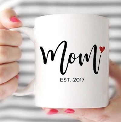 PrintableSky New Mom Mug