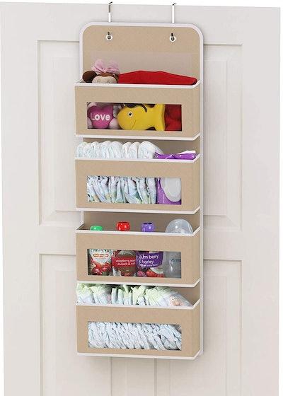 Simple Houseware Over Door Pocket Organizer