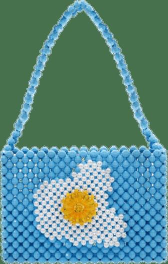 Beaded Egg Bag