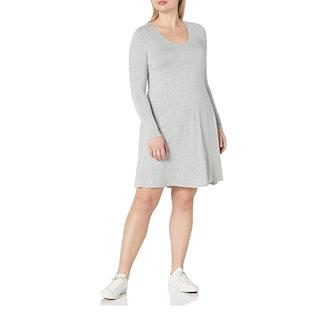 Daily Ritual Plus Size Long Sleeve Dress
