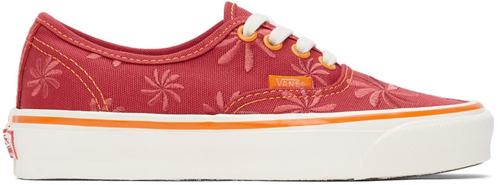 VANS Red Embroidery OG Authentic LX Sneakers