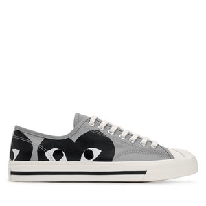 New Jack Purcell sneaker from the Converse x Comme des Garçons PLAY collaboration.