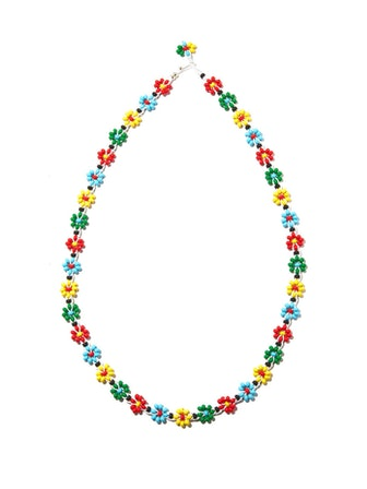 Floral Beaded Necklace