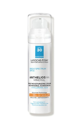 Anthelios 100% Mineral Sunscreen Moisturizer with Hyaluronic Acid