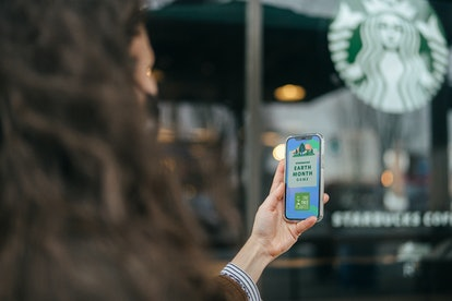 Here's how to play Starbucks' Earth Month Game for a chance to win free sips for a year.