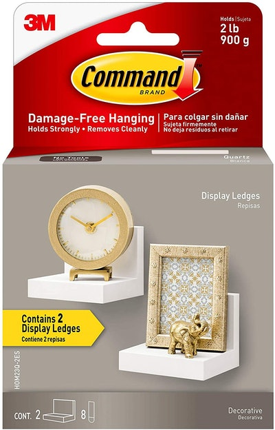 Command Display Ledges with Foam Strips
