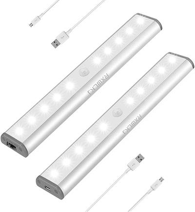 RXWLKJ Stick-On LED Cabinet Lights