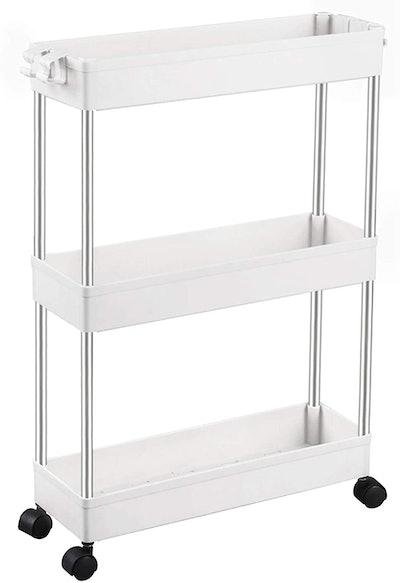 SPACEKEEPER Slim Storage Cart