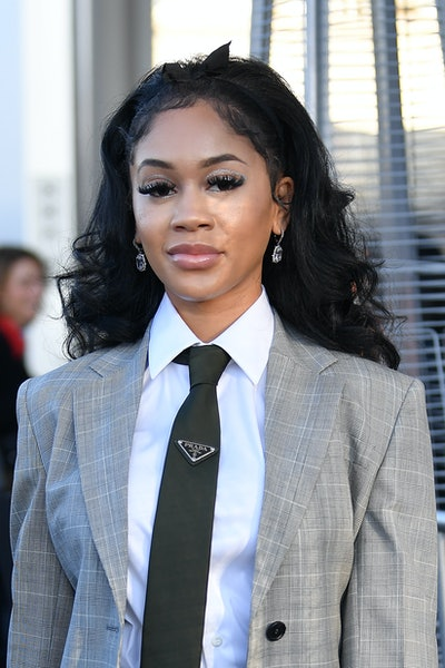 Saweetie has broken her silence over the leaked elevator surveillance footage of a fight with ex-boyfriend Quavo.