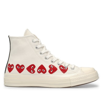 Multi Heart Chuck Taylor All Star '70 High Top in White