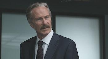 William Hurt as Thunderbolt Ross in Captain America: Civil War