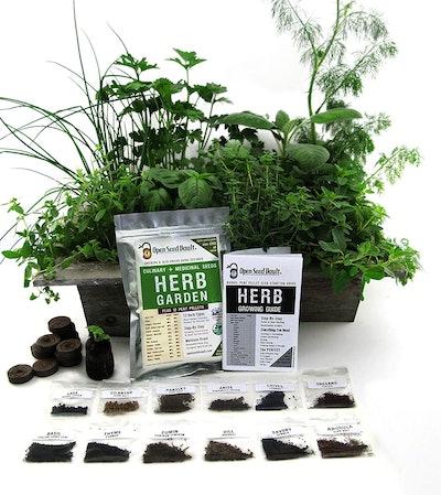 Open Seed Vault Heirloom Herb Kit