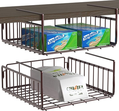 Simple Houseware Under Shelf Baskets (2 Pack)