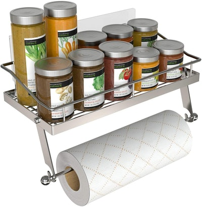 GeekDigg Paper Towel Holder with Shelf