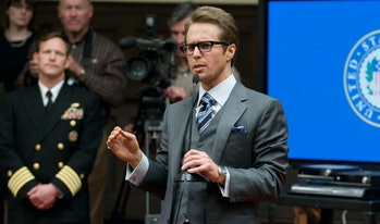 Sam Rockwell as Justin Hammer in Iron Man 2