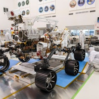 See how the Mars Perseverance rover stacks up against sci-fi robots