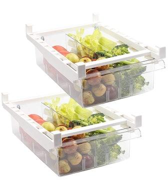 Shopwithgreen Refrigerator Organizer Bins