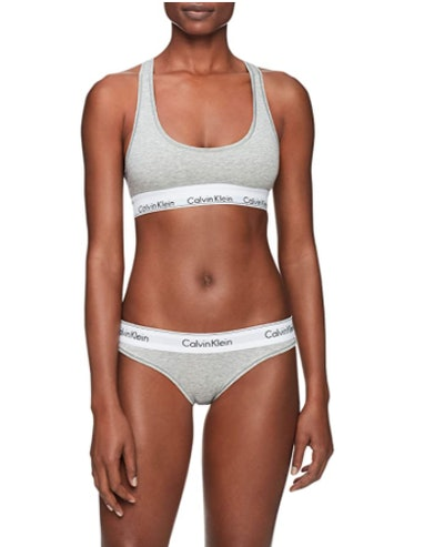 Calvin Klein Cotton Bralette & Bikini Set
