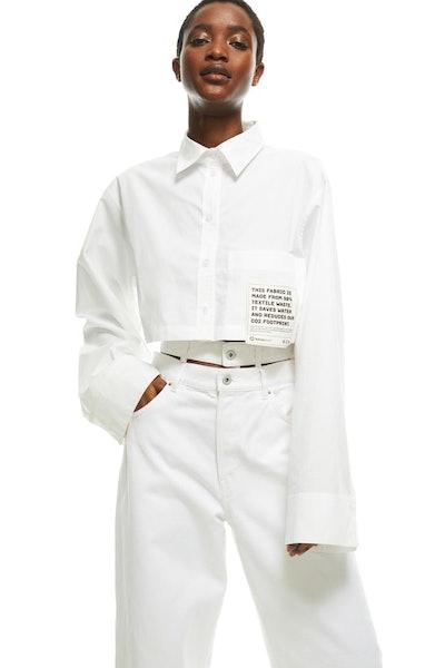 Cotton Crop Shirt