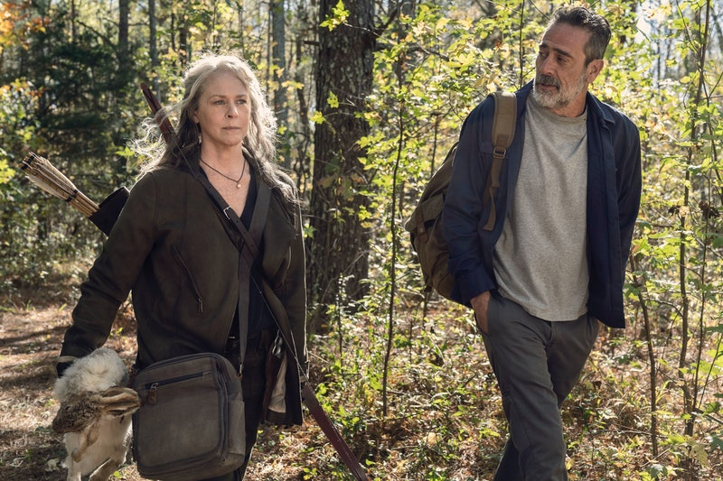 Negan's presence could complicate things even more in Season 11 of 'The Walking Dead.' Photo via AMC