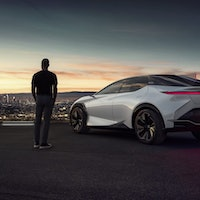The Lexus LF-Z might be the future of electric cars