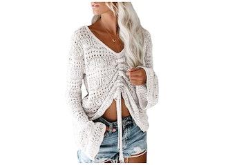 Saodimallsu Ruched Sweater