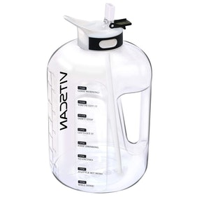 Gallon Water Bottle with Motivational Markers