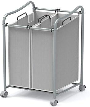 Simple Houseware Laundry Sorter Cart