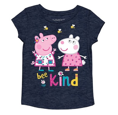 """Girls 4-12 Jumping Beans® Peppa Pig """"Bee Kind"""" Graphic Tee"""