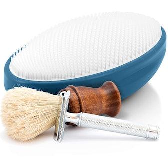 WIZKER Exfoliating Brush