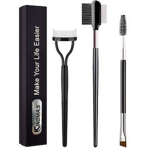 KINGMA Eyebrow and Eyelash Tools (3-Pieces)