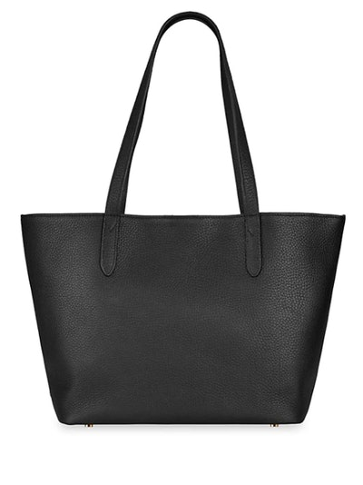 Gigi New York Teddie Leather Tote