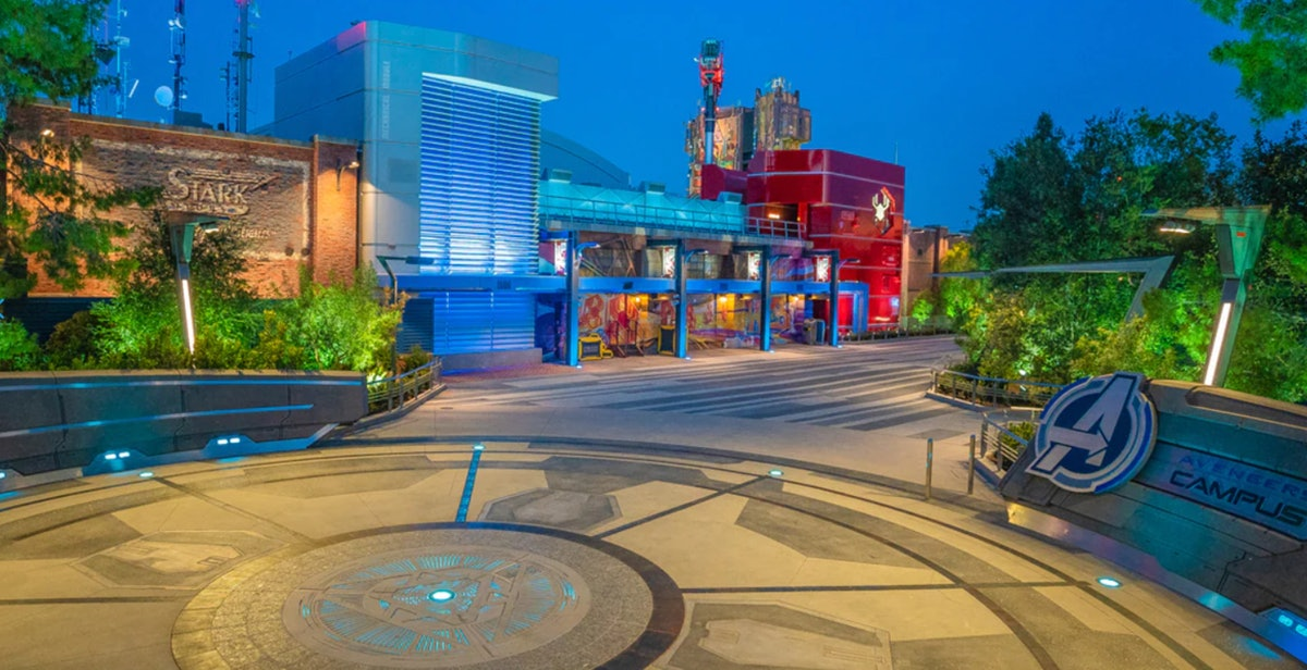 This video of Disneyland's Marvel's Avengers Campus is way too cool.