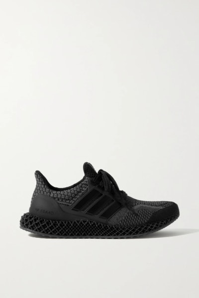 Adidas Originals Ultra 4D 5.0 rubber-trimmed Primeblue sneakers
