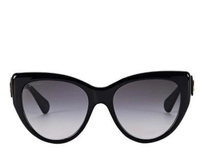 Gucci Oversized Feminine Cat Eye Sunglasses