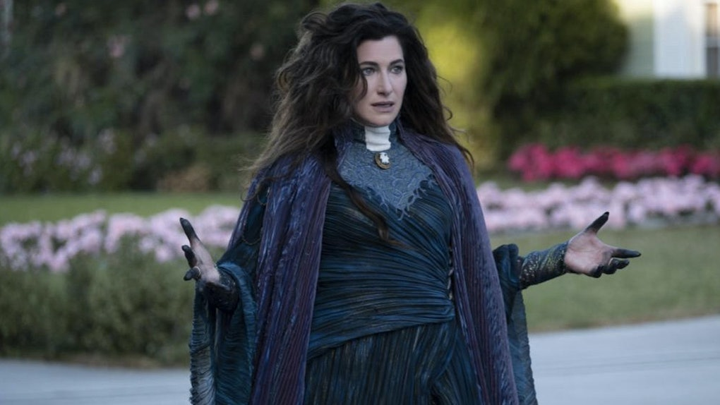 Kathryn Hahn says her hope for Agatha Harkness' future after 'WandaVision' if for Marvel to explore her history more.