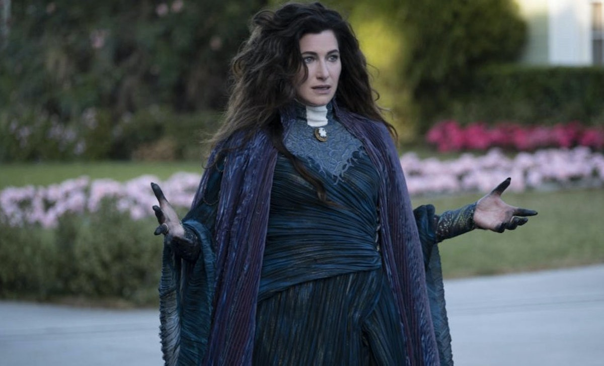 Kathryn Hahn says her hope for Agatha Harkness' future after 'WandaVision' if for Marvel to explore ...