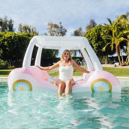 FUNBOY x Barbie Malibu Golf Cart Float