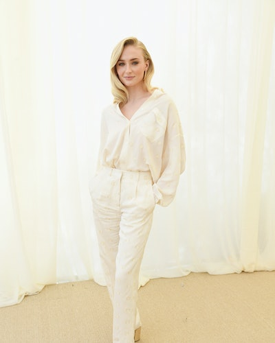 Sophie Turner attends 2019 Roc Nation THE BRUNCH on February 9, 2019 in Los Angeles, California.