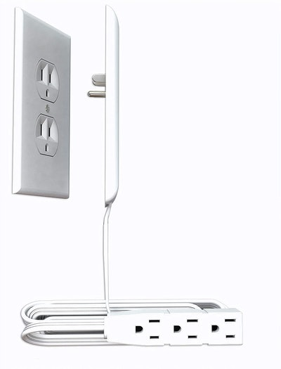 Sleek Socket Ultra-Thin Outlet Cover with Power Strip