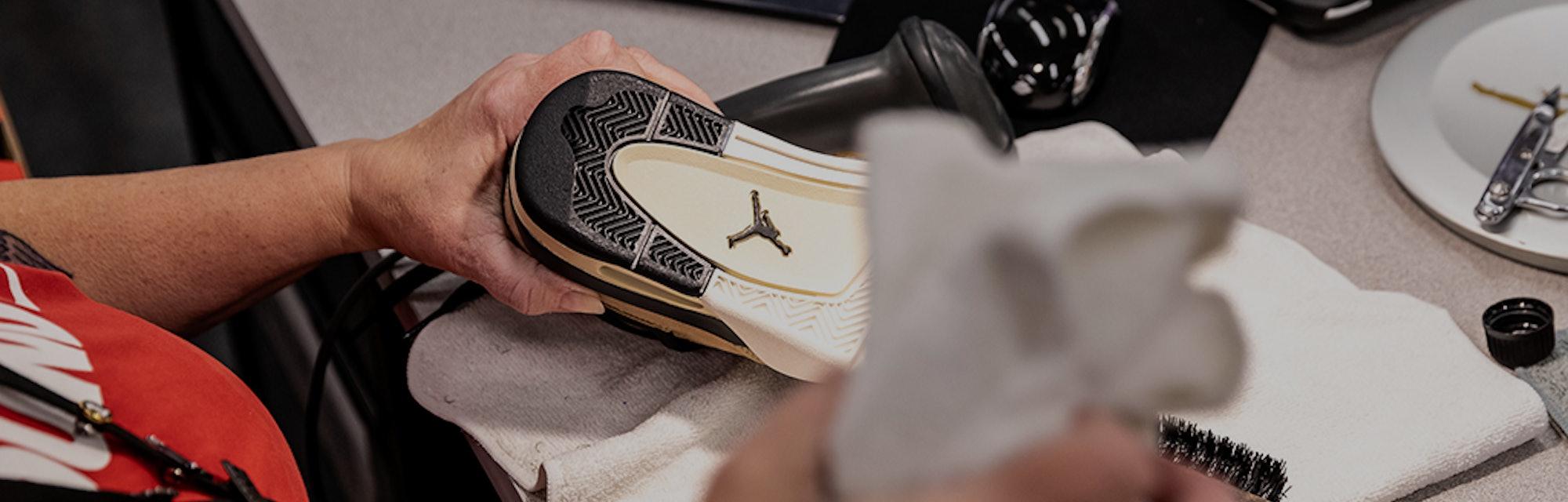 Nike Refurbished process