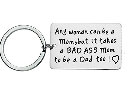 Single Mom Gifts Single Mother Keychain