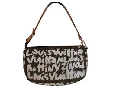 Pochetette Graffiti Cloth Clutch Bag