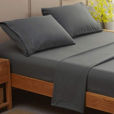 SONORO KATE  Egyptian Cotton Bed Sheets (4 Pieces)