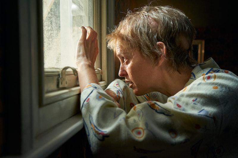 DENISE GOUGH as Connie Mortensen in ITV's Too Close