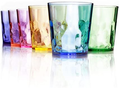 SCANDINOVIA 13-Ounce Premium Drinking Glasses (Set of 6)