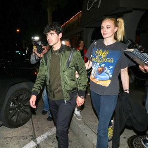 Joe Jonas and Sophie Turner are seen on March 04, 2019 in Los Angeles, California.