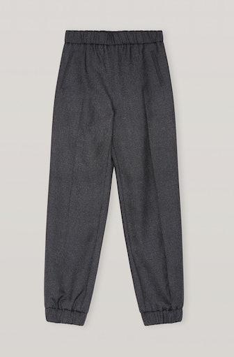 Wool Suiting Elasticated Pants